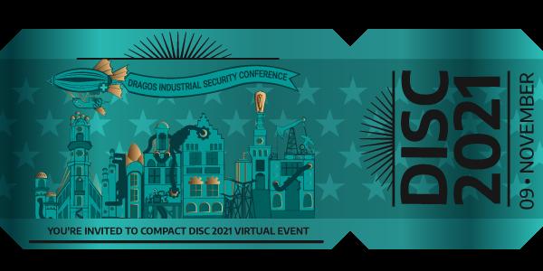 Compact DISC Invite Ticket